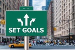 Determine objetivos específicos positivos para o seu dia e alcance o que você deseja